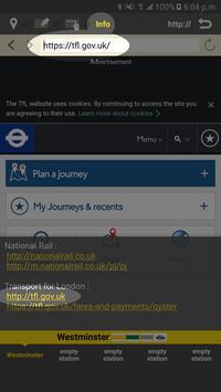 RailNote Lite London Rail+Tube screenshot 4