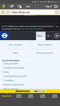 RailNote Lite London Rail+Tube screenshot 5
