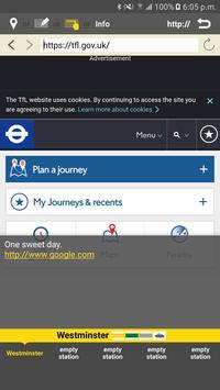 RailNote Lite London Rail+Tube screenshot 7