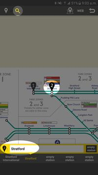 RailNote Lite London DLR screenshot 1