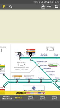 RailNote Lite London DLR screenshot 2
