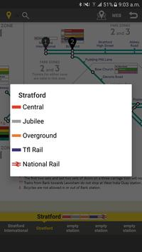 RailNote Lite London DLR screenshot 3