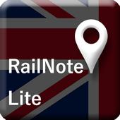 RailNote Lite UK London Tube icon