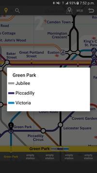 RailNote Lite UK London Tube screenshot 1