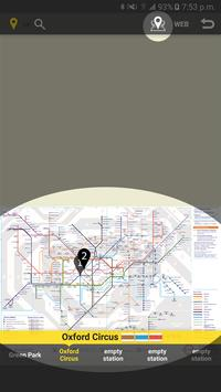 RailNote Lite UK London Tube screenshot 3