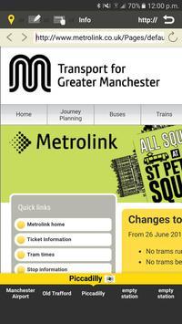 RailNote Lite Manchester tram screenshot 4