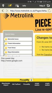 RailNote Lite Manchester tram screenshot 5