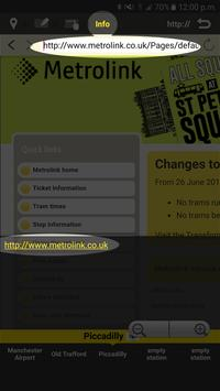 RailNote Lite Manchester tram screenshot 3