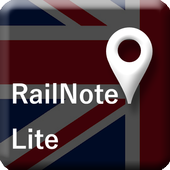RailNote Lite UK National Rail icon