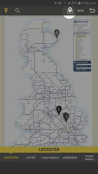 RailNote Lite UK National Rail screenshot 3