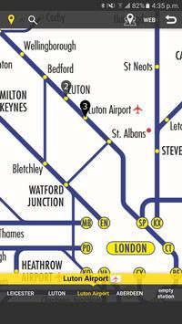 RailNote Lite UK National Rail poster