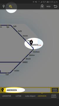 RailNote Lite UK National Rail screenshot 1