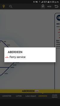 RailNote Lite UK National Rail screenshot 2