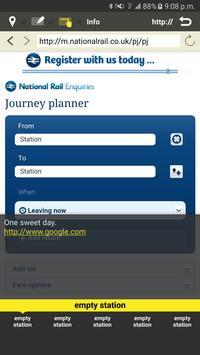 RailNote Lite UK National Rail screenshot 7