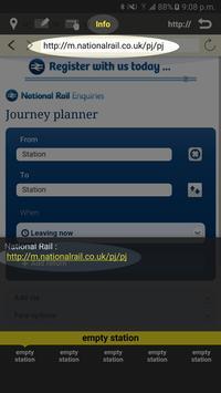 RailNote Lite UK National Rail screenshot 4