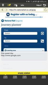 RailNote Lite UK National Rail screenshot 6