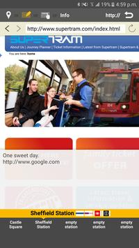 RailNote Lite UK Sheffield screenshot 5