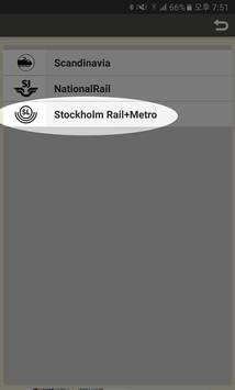 RailNote Sweden Rail Way Map apk screenshot