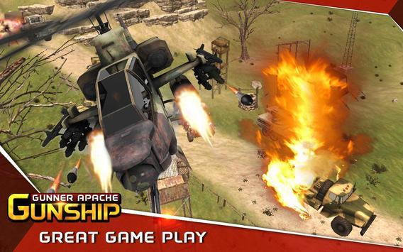 Gunner Apache Gunship poster