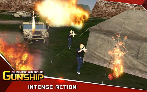 Gunner Apache Gunship apk screenshot