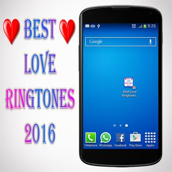 Best Love Ringtones 2016 poster