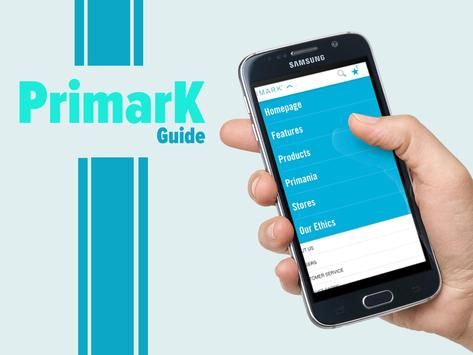 Guide for Primark apk screenshot