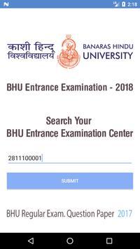BHU Entrance Exam poster