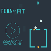 Turn to fit icon