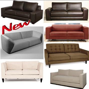 Minimalist design sofa poster