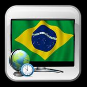 Brazil guide TV icon