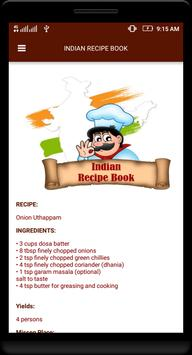 Indian Recipe Book screenshot 3