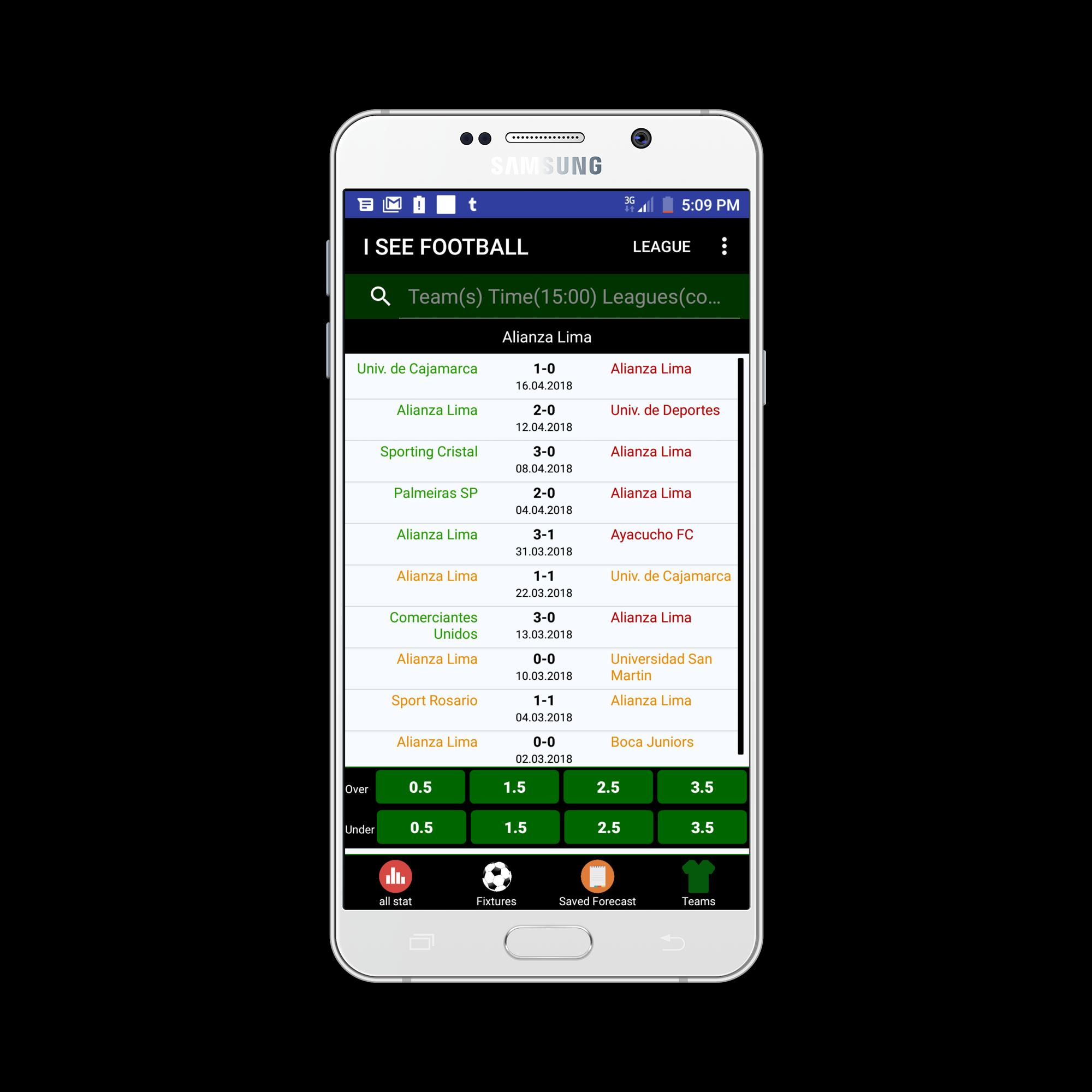 Soccer Statistics App(I See Football) for Android - APK Download