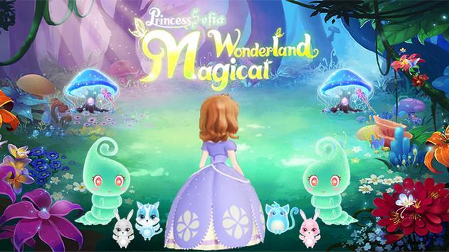 👰 Princess Sofia wonderland: first adventure game poster