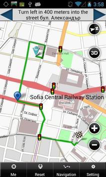 Sofia Map poster