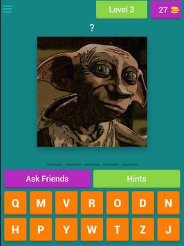 Quiz Harry Potter - English screenshot 2