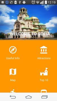 Sofia Tour Guide poster