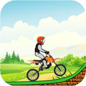 Jungle Race Bike Game icon