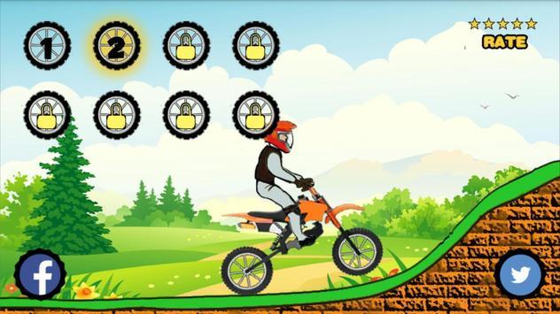 Jungle Race Bike Game apk screenshot