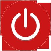 Lock Turn off the screen Screen Power icon