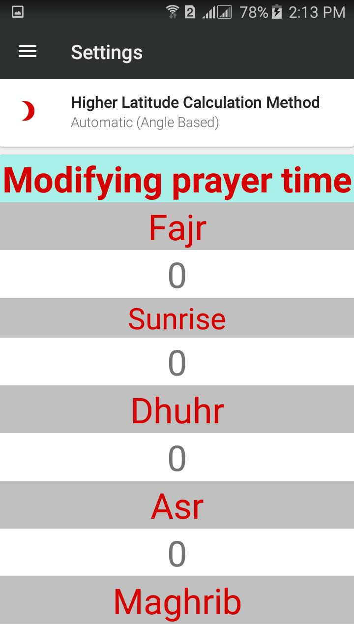 The Smart Muslim Muezzin Prayer, Times,Azan,Qibla for Android - APK