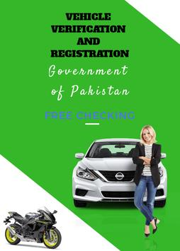 Vehicle and Driver Licence Verification poster