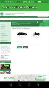 Vehicle and Driver Licence Verification screenshot 4