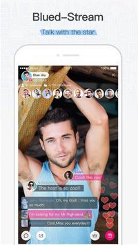 Blued - Gay Chat & Social apk screenshot