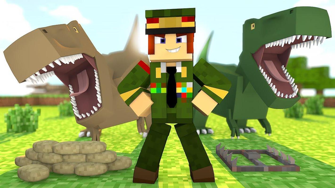 майнкрафт динозавры ютуб #4