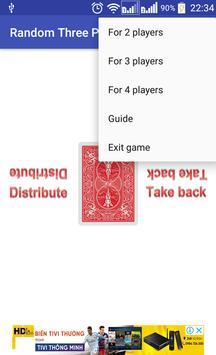 Random Three Poker Card screenshot 4