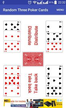 Random Three Poker Card screenshot 7