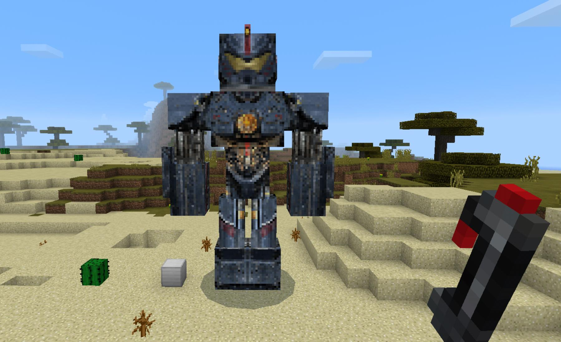Mega Mech Addon for Minecraft for Android - APK Download