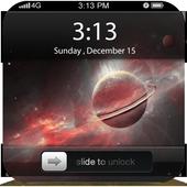 Asteroids Slide Screenlock icon