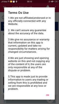 GST TIN Verify captura de pantalla 4