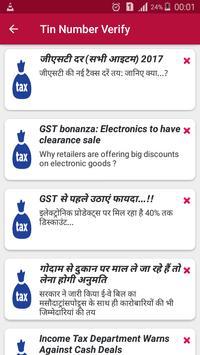 Schermata apk GST TIN Verify